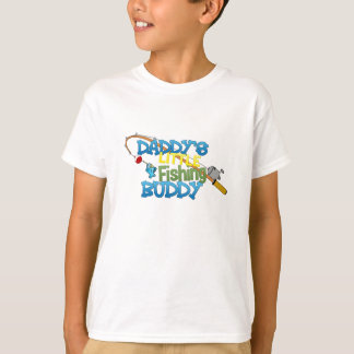 Daddy's Little Fishing Buddy T-Shirt