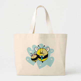 Daddy's little girl / Petite fille à papa. Jumbo Tote Bag