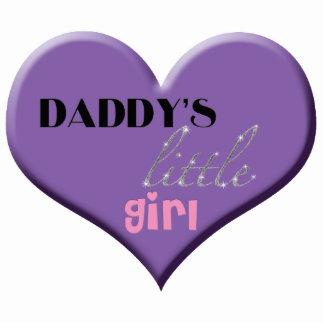 Daddy's Little Girl Photo Sculpture Ornament