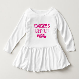 Daddy's Little Girl, Pink, father child quote Dress