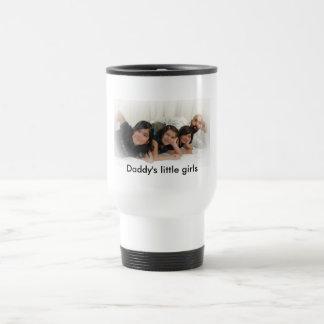 Daddys little girls 15 oz stainless steel travel mug
