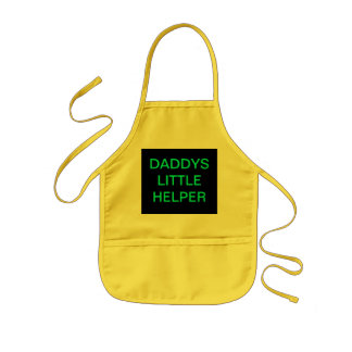 Daddys Little Helper Kids Aprons