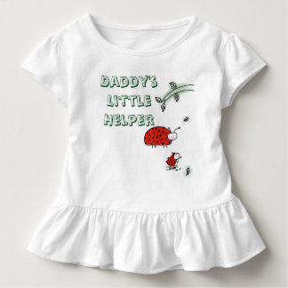 Daddy's little helper Lady bug cool custom shirt