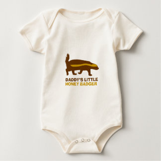 Daddy's Little Honey Badger Baby Bodysuit