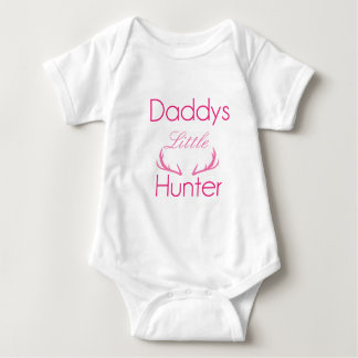 Daddy's Little Hunter Infant creeper Little girl