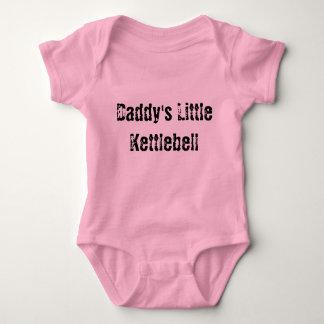 Daddy's Little Kettlebell Baby Bodysuit