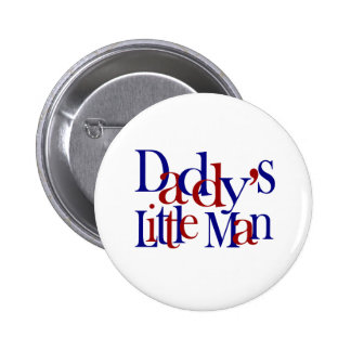 Daddy's Little Man 2 Inch Round Button