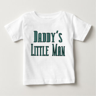 Daddys little man baby T-Shirt