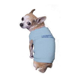 Daddy's Little Man Ribbed Doggy Shirt Dog Tee Shirt
