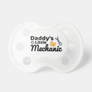Daddy's Little Mechanic BooginHead® Pacifier
