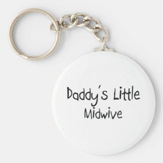 Daddy's Little Midwive Keychain