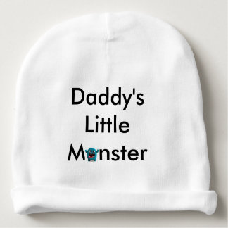 Daddy's little monster Baby Beanie