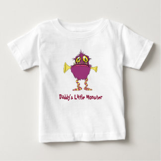 Daddy's Little Monster Baby T-Shirt