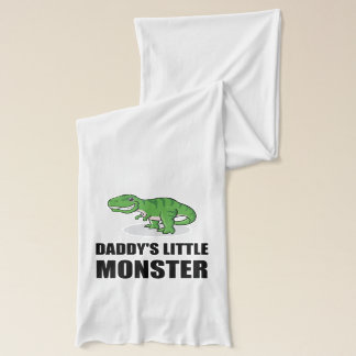 Daddys Little Monster Scarf
