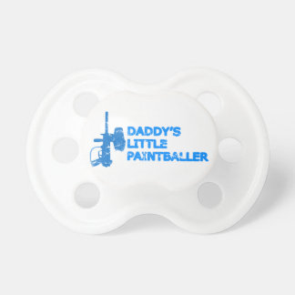 Daddy's Little Paintballer Boy Pacifier