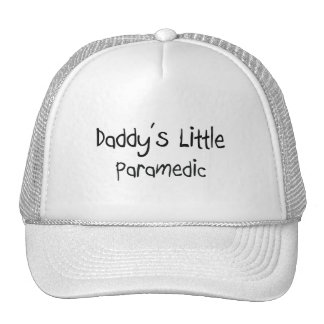 Daddy's Little Paramedic Mesh Hats