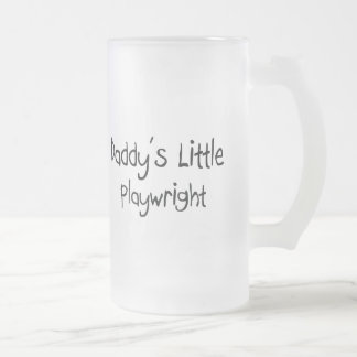 Daddy's Little Playwright Coffee Mugs
