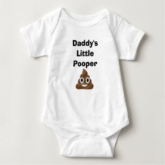 Daddy's Little Pooper Baby Bodysuit