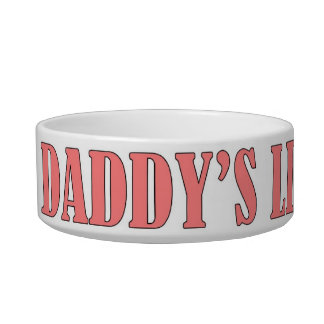 Daddy's Little Princess Cat Food Bowls