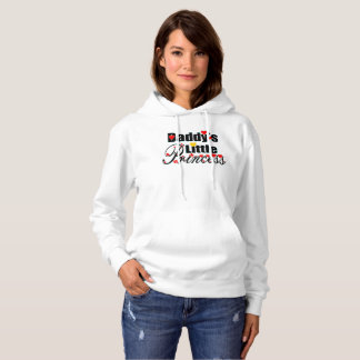 ❤✔Daddy's Little Princess Fabulous Basic Hoodie