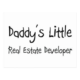 Daddy's Little Real Estate Developer Post Card