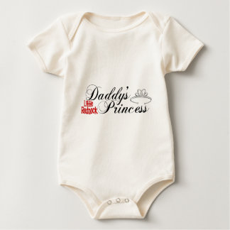 Daddy's Little Redneck Princess Baby Bodysuit