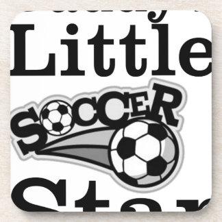 Daddy's Little Soccer Star Coaster