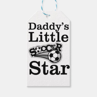 Daddy's Little Soccer Star Gift Tags