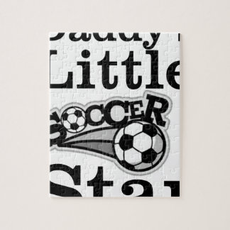 Daddy's Little Soccer Star Jigsaw Puzzle