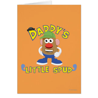 Daddy's Little Spud Card