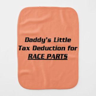 Daddy's Little Tax Deduction Burp Cloth