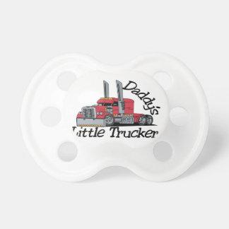 Daddys Little Trucker Baby Pacifier