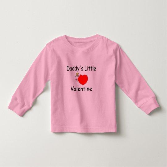 Daddy's Little Valentine Toddler T-shirt