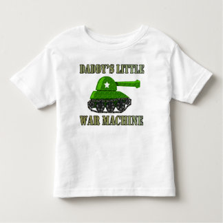 Daddy's Little War Machine Tank Tee