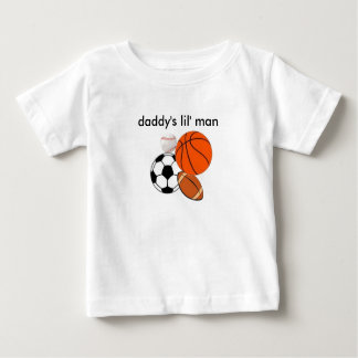 Daddy's Man Baby T-Shirt
