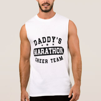 Daddy's Marathon Cheer Team Sleeveless Shirt