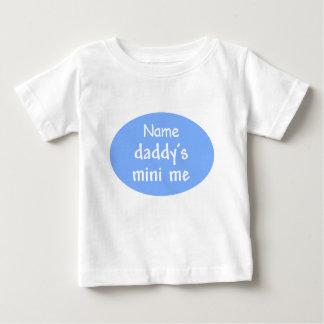 Daddy's Mini Me t-shirt, customizable, blue Tshirts
