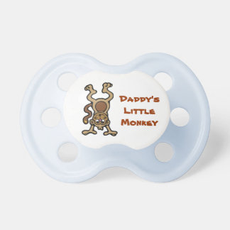 Daddy's Monkey Pacifier