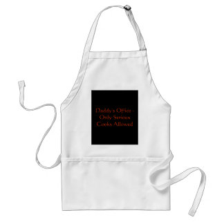Daddy's Office Apron