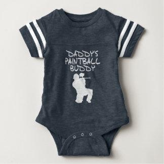 Daddy's Paintball Buddy Baby Bodysuit