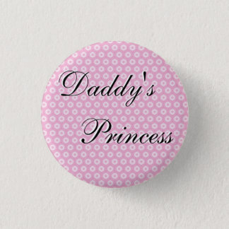 Daddy's Princess 1 Inch Round Button