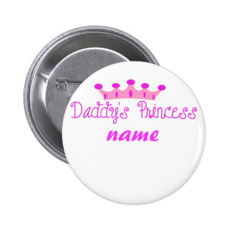 Daddy's Princess 2 Inch Round Button