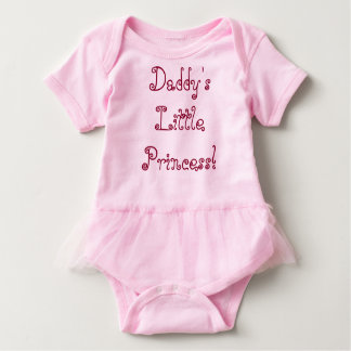Daddy's Princess Baby Bodysuit