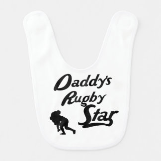 Daddy's Rugby Star Bib