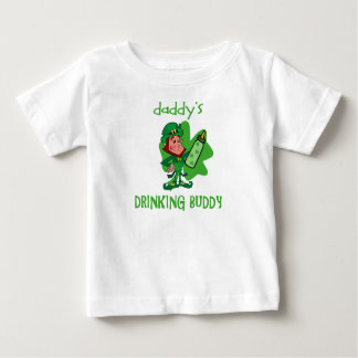 Daddy's St Pat's Drinking Buddy Baby T-Shirt