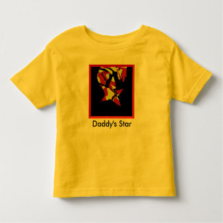 Daddy's Star Toddler T-Shirt