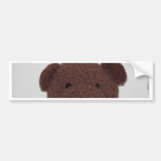 Daddys Teddy Bear Bumper Sticker