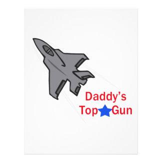 DADDYS TOP GUN LETTERHEAD TEMPLATE