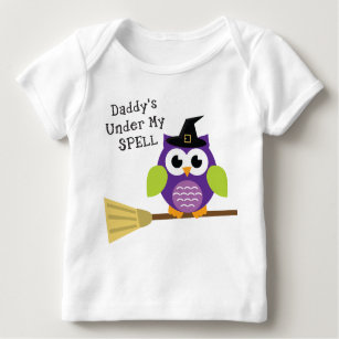 Daddy's Under My Spell Baby T-Shirt