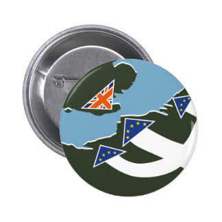Dad's Army Brexit Badge 2 Inch Round Button